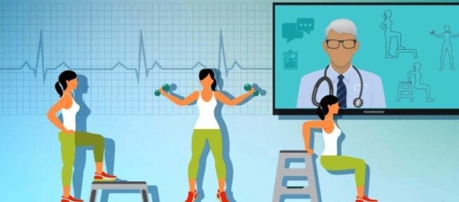 Tele Health Physical Therapy Online Sessions